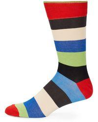 Saks Fifth Avenue - Cotton Blend Mid-calf Socks - Lyst