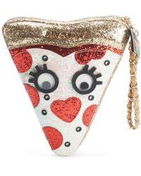 Betsey Johnson - Embellished Side Zipper Handbag - Lyst