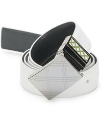 Robert Graham - Kenya Buckled Leather Belt - Lyst