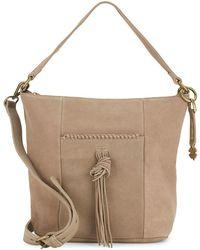 Lucky Brand - Crossbody Leather Shoulder Bag - Lyst