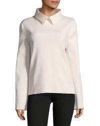 Céline - Collared Sweatshirt - Lyst