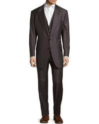 Tom Ford - Three-piece Wool Suit - Lyst