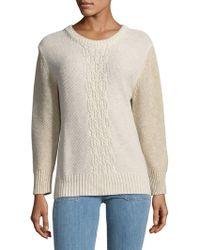 True Religion - Two-tone Sweatshirt - Lyst