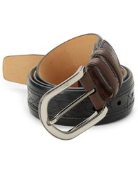 Mezlan - Saratoga Crocodile Leather Belt - Lyst