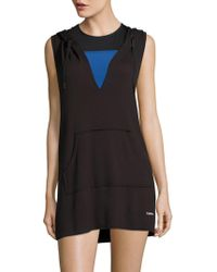 Calvin Klein - Hooded Swim Dress - Lyst