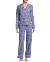 Carole Hochman - Collection Geometric Printed Knit Pyjamas Set - Lyst