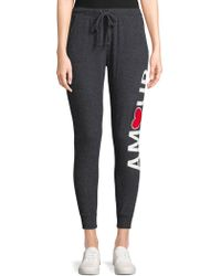 Chaser - Slim Slouchy Jogger Pants - Lyst