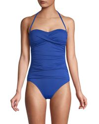 La Blanca - Island One-piece Bandeau Swimsuit - Lyst
