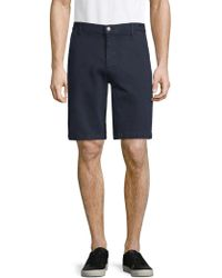 7 For All Mankind - Stretch Chino Shorts - Lyst