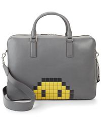 Anya Hindmarch - Walton Pixel Smiley Briefcase - Lyst