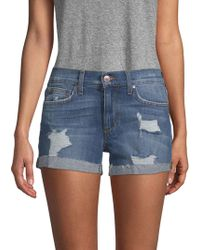 Joe's Jeans - Phoebe Denim Shorts - Lyst