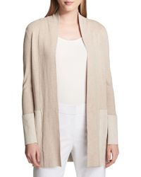 Calvin Klein - Casual Heathered Cardigan - Lyst