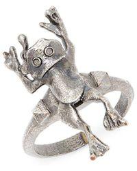 Valentino - Frog Statement Ring - Lyst