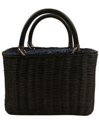 Sam Edelman Lucy Mini Straw Crossbody Bag