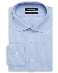 Saks Fifth Avenue - Slim-fit Check Dress Shirt - Lyst