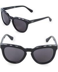 Diane von Furstenberg - 55mm Square Sunglasses - Lyst
