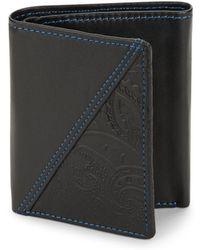 Robert Graham - Leather Bi-fold Wallet - Lyst