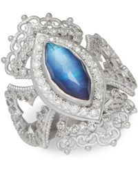 Armenta - New World Multi-stone And Sterling Silver Ring, 0.35 Tcw - Lyst