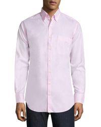 Peter Millar - Crown Pinpoint Shirt - Lyst