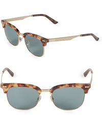 Gucci - 54mm Clubmaster Sunglasses - Lyst