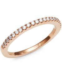 Le Vian - 14k Rose Gold And Diamonds Ring - Lyst