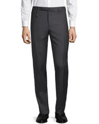 Incotex - Dotted Wool Pants - Lyst