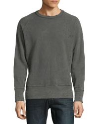 Joe's Jeans - Distress Cotton Sweater - Lyst