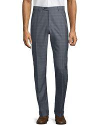 Brioni - Patterned Wool Silk Trousers - Lyst