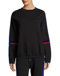 Public School - Azalea Velvet Stripe Sweater - Lyst