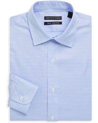 Saks Fifth Avenue Black - Slim-fit Cotton Dress Shirt - Lyst