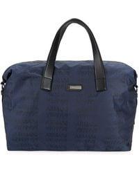 Armani - Logo Tote Bag - Lyst