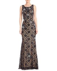 Jovani - Sequined Lace Gown - Lyst