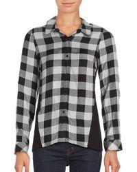 Kensie - Herb Checked Button-down Shirt - Lyst
