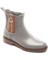 Bernardo - Zip Rubber Rain Boots - Lyst