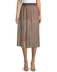 Lea & Viola - Multicolored Sparkling Skirt - Lyst