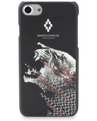 Marcelo Burlon Sham Iphone 7 Case - Black