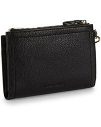 Vince Camuto - Textured Leather Wallet - Lyst