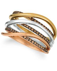 Le Vian - Chocolatier14k Gold And Chocolate Diamond Ring - Lyst