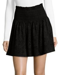Parker - Floral Mini Skirt - Lyst