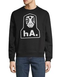 Haculla - Nyc Crew Graphic Jumper - Lyst