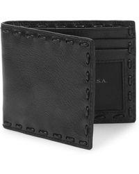 John Varvatos - Leather Continental Wallet - Lyst