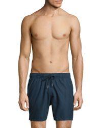 Slate & Stone - Solid Swim Shorts - Lyst