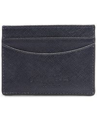 Saks Fifth Avenue - Leather Card Case - Lyst