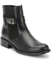 Aquatalia - Ulrika Leather Ankle Boots - Lyst