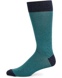 Saks Fifth Avenue - Collection Cigarette Striped Socks - Lyst