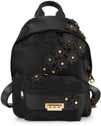 Zac Zac Posen - Eartha Floral-embellished Backpack - Lyst
