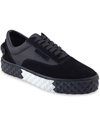 Kendall + Kylie - Reign Lace Up Textured Platform Sneakers - Lyst