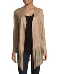 SW3 - Open Front Fringed Jacket - Lyst