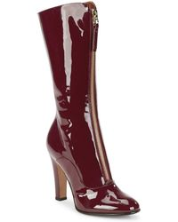 Valentino - Mid-calf Leather Ankle Boots - Lyst