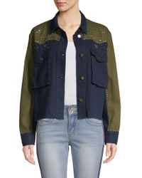 Lea & Viola - Western Long-sleeve Cotton Jacket - Lyst